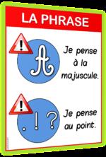 phrase affiche CP CE1 CE2