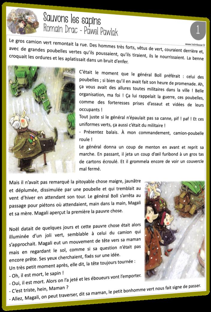 sauvons les sapins tapuscrit