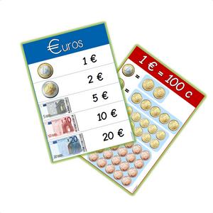 monnaie affiche euros