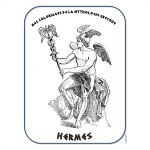 Coloriages Et Jeux Autour De La Mythologie Grecque Lutin Bazar