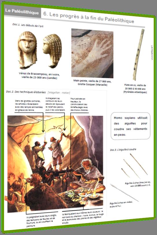 préhistoire dossier 6