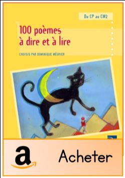 100 poèmes à dire et à lire Retz