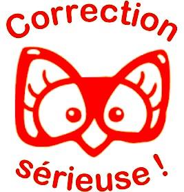 tampon correction sérieuse