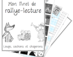 rallye lecture - loups cochons chaperons