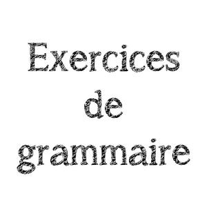 Exercices De Grammaire Ce2 Lutin Bazar