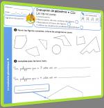 évaluation géométrie CE2