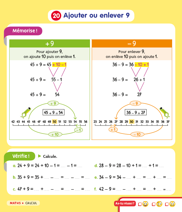 Mon Mémo CE1 Lutin Bazar - Maths 2