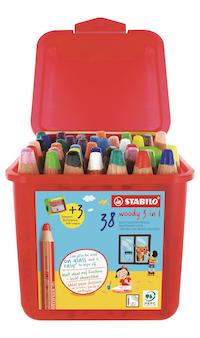 Stabilo woody school pack