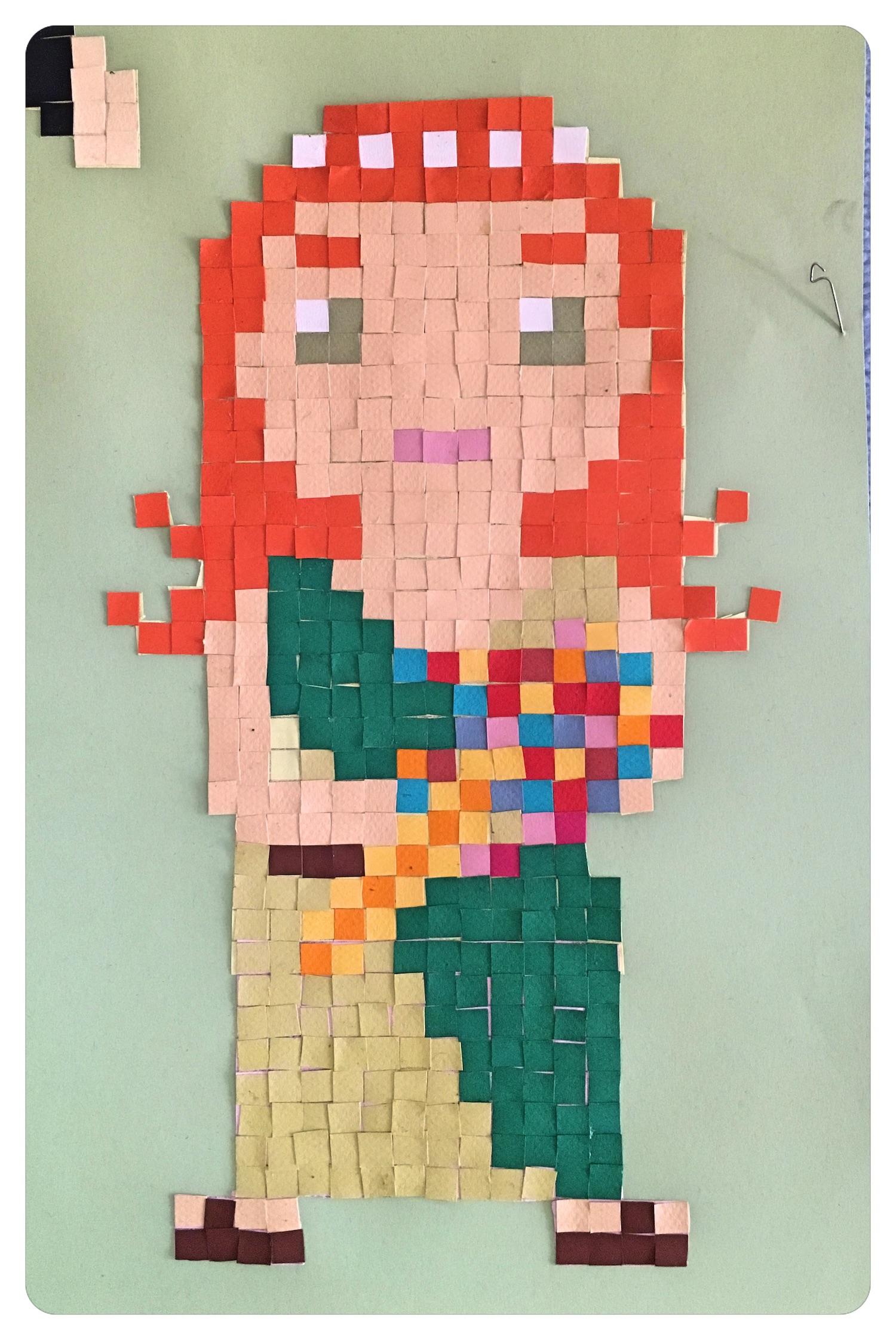 pixel art mythologie olympe