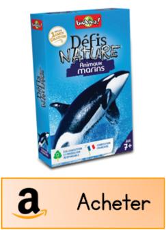 Défis nature animaux marins jeu